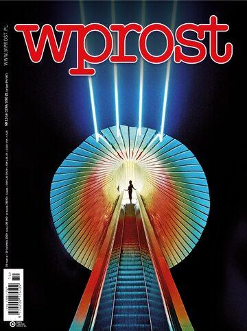Tygodnik WPROST 13-14/2020 - Okładka
