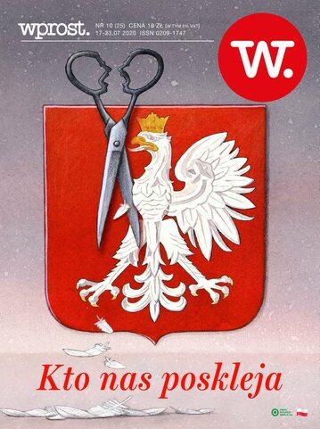 Tygodnik WPROST 25/2020 - Okładka