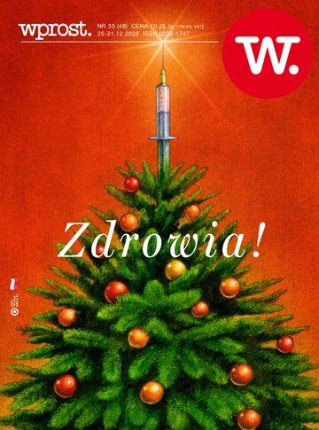 Tygodnik WPROST 33/2020 – Okładka