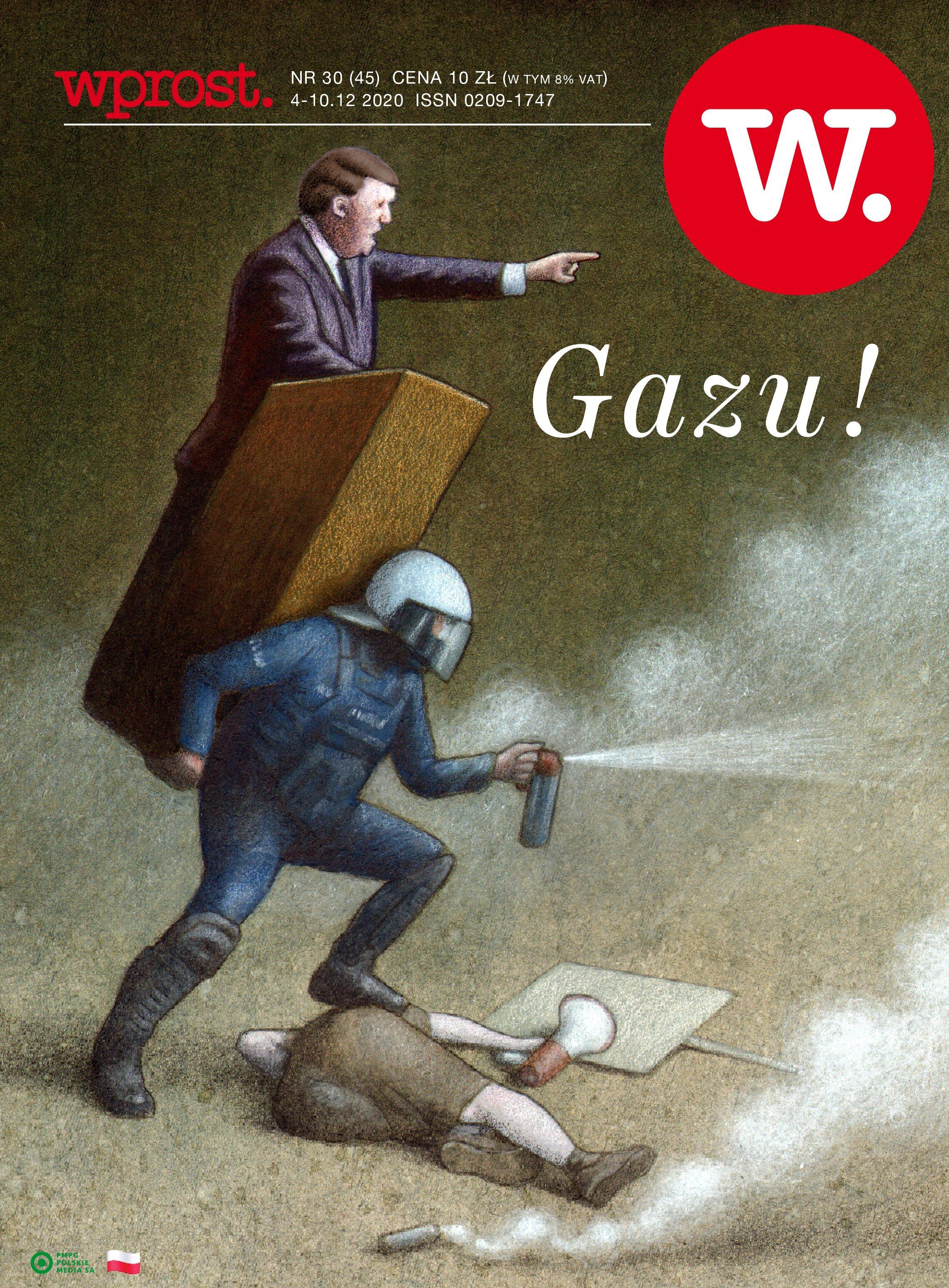 Tygodnik Wprost 45/2020 – Okładka