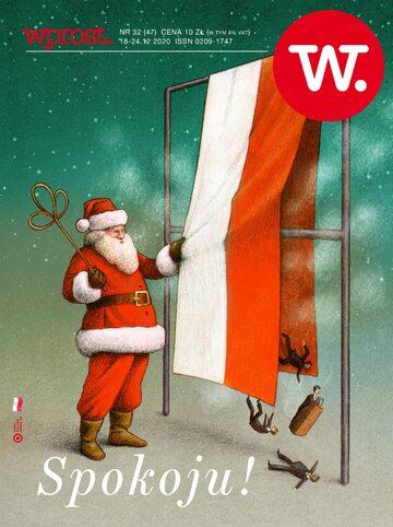 Tygodnik Wprost 47/2020 – Okładka