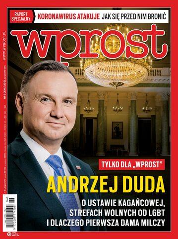 Tygodnik WPROST 6/2020 - Okładka