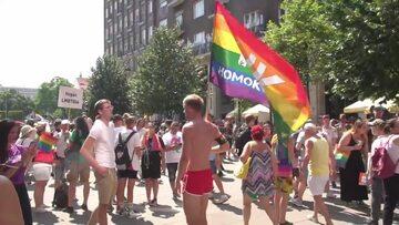 Tysiące ludzi wzięły udział w paradzie równości w Budapeszcie