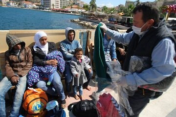 Uchodźcy w Izmirze