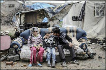 Uchodźcy z Aleppo