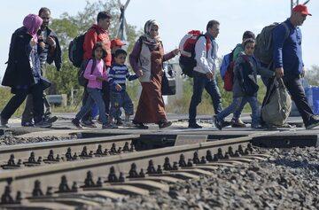 Uchodźcy, zdjęcie ilustracyjne