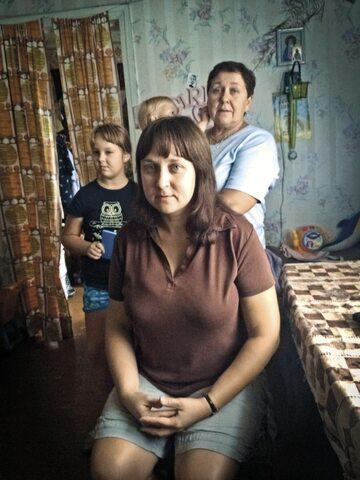 Uciekinierzy z Donbasu (Anastazja z rodziną).