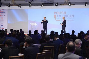 Uczestnicy Polsko-Amerykańskiego Szczytu Przywództwa w Miami