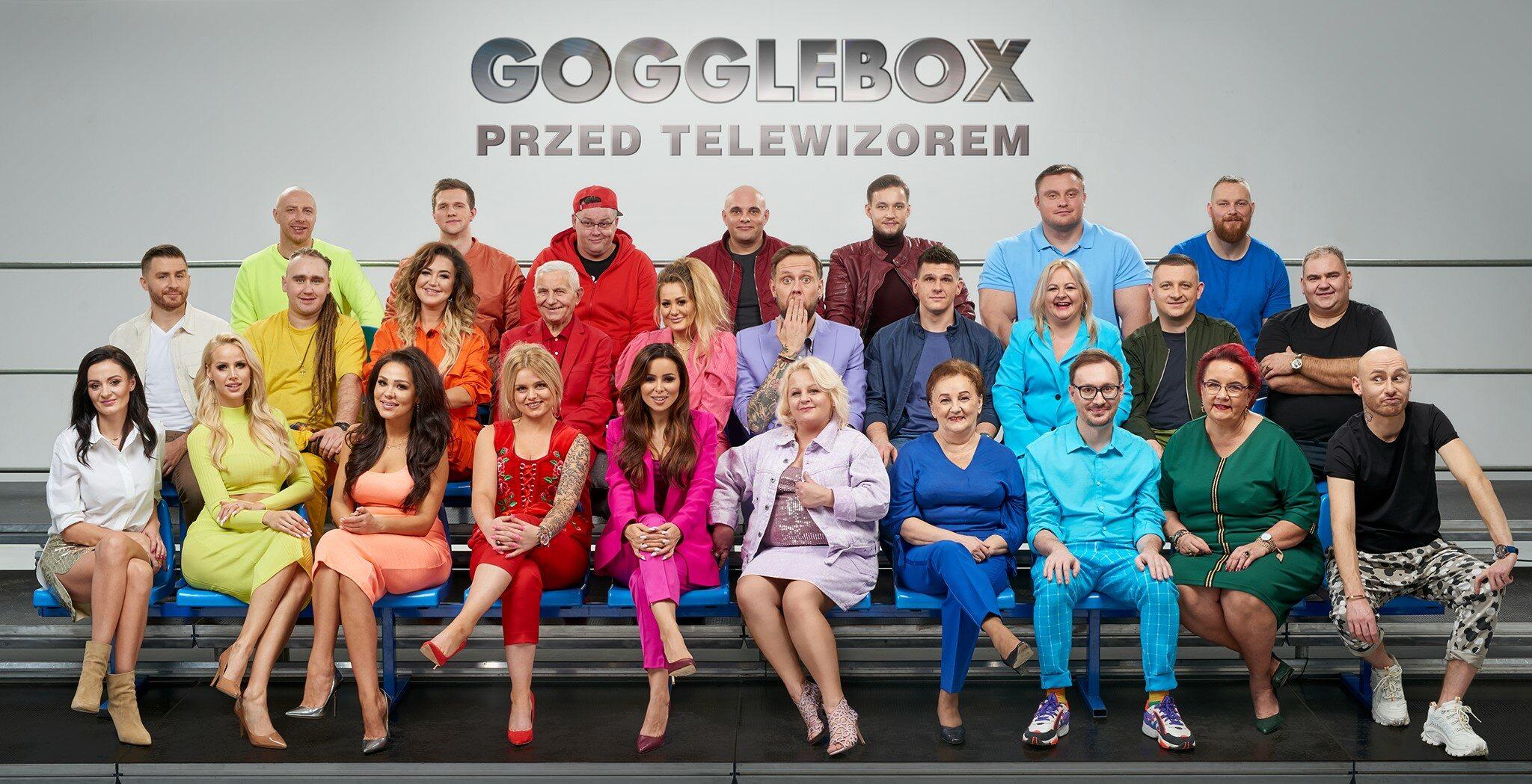 "Uczestnicy programu ""Gogglebox"""