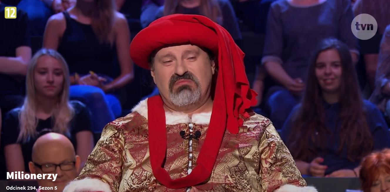 """Uczestnik """"Milionerów"""" Bartłomiej Koźniewski"""