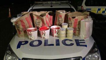 Udaremniony przemyt jedzenia z KFC. Nowa Zelandia