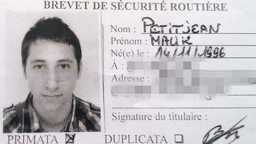 Ujawniony przez policję skan prawa jazdy zamachowca