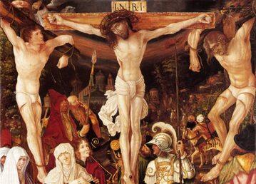 Ukrzyżowanie Chrystusa i dwóch łotrów