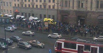 Ulice Petersburga po zamachu