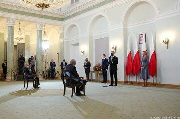 Uroczystość w Pałacu Prezydenckim