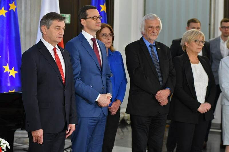 Uroczystość wręczenia posłom do Parlamentu Europejskiego zaświadczeń