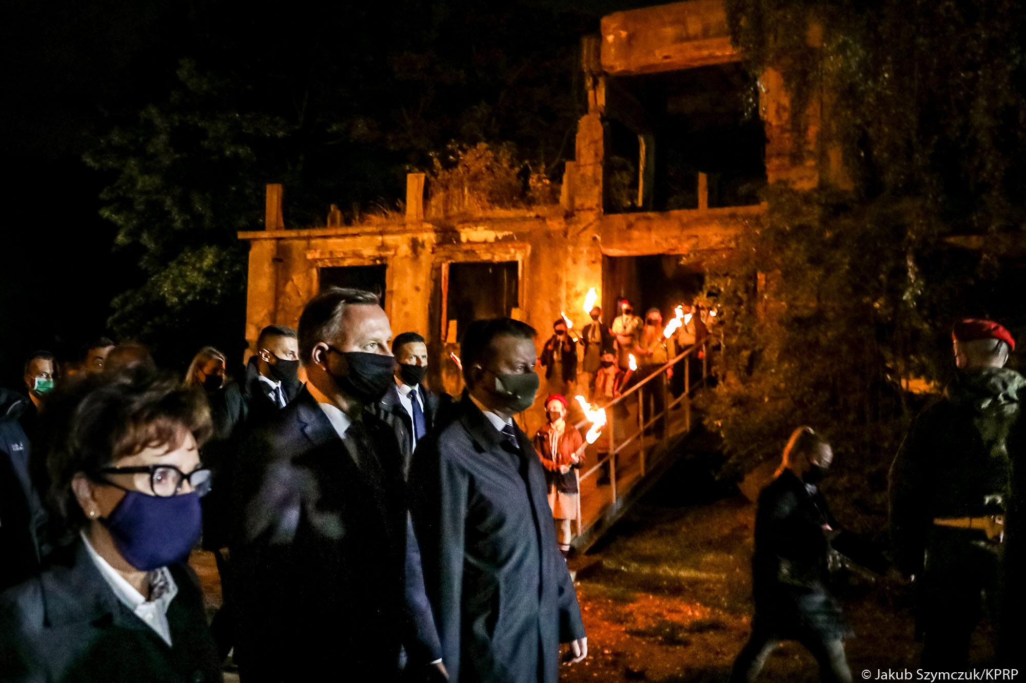 Uroczystości upamiętnienia 81. rocznicy wybuchu II wojny światowej na Westerplatte