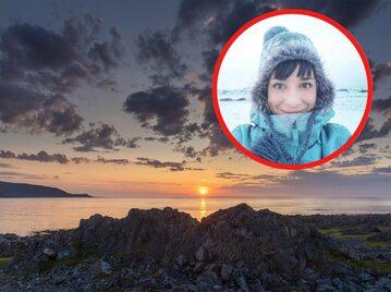 Valentina Miozzo przeprowadziła się do Kongsfjord