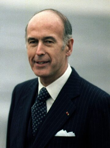 Valéry Giscard d'Estaing w 1978 roku