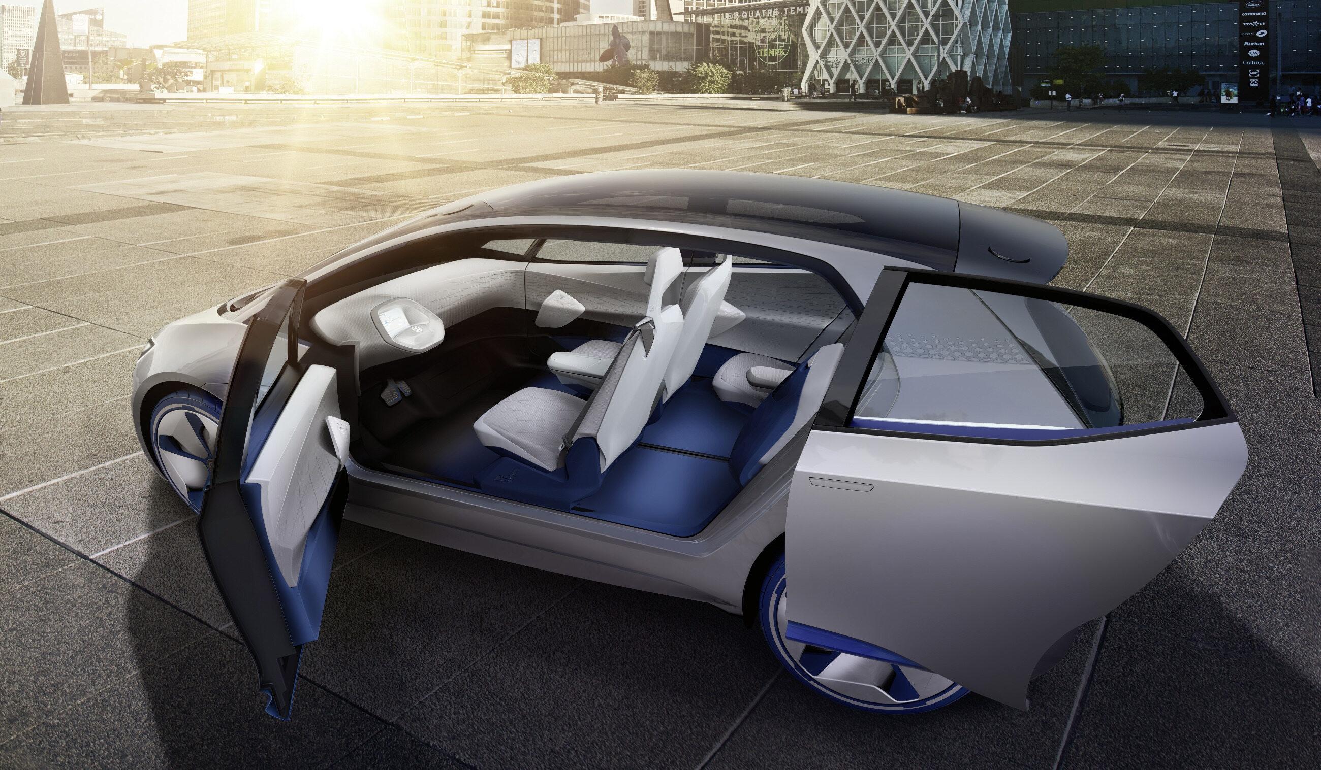 Volkswagen I.D. - auto elektryczne w klasie VW Golfa