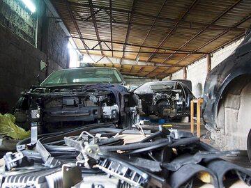 W odnalezionej dziupli były auta za ponad 2 mln zł