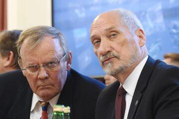 Wacław Berczyński i Antoni Macierewicz
