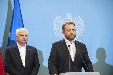Waldemar Kraska i Łukasz Szumowski