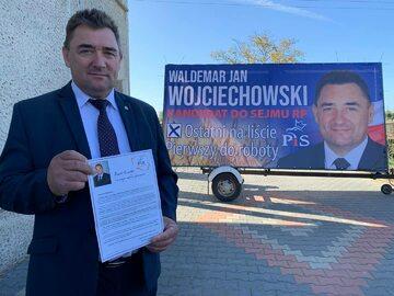 Waldemar Wojciechowski podczas kampanii