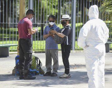 Walka z koronawirusem w Argentynie