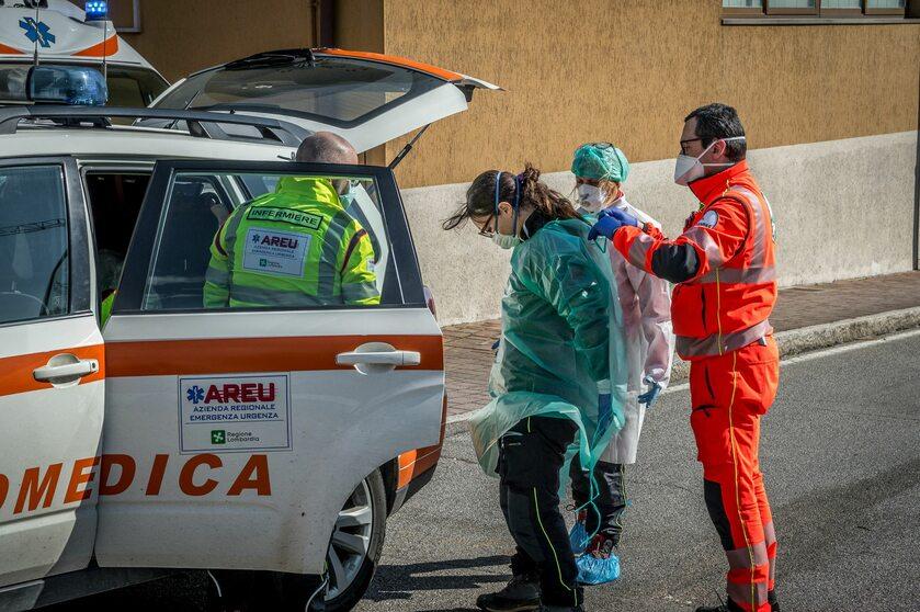 Walka z koronawirusem we Włoszech