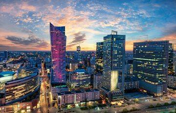 Warszawa, centrum stolicy Polski