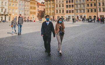 Warszawa w trakcie pandemii, zdj. ilustracyjne