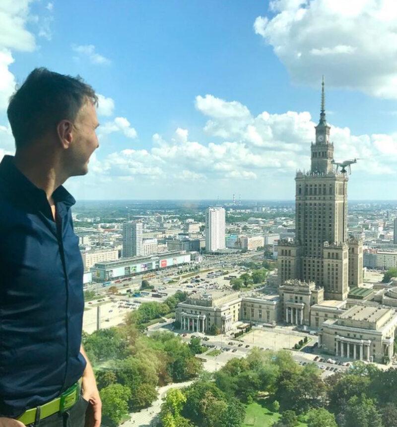 Warszawski apartament Krzysztofa Gojdzia