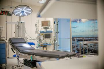 Wegner może się pochwalić wieloma oddanymi do użytku placówkami medycznymi