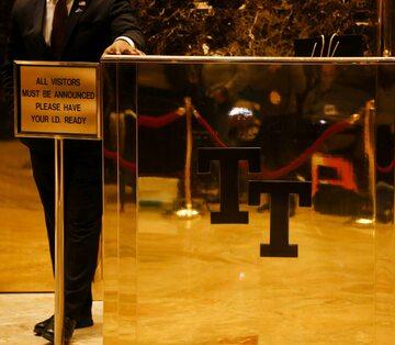 Wejście do Trump Tower