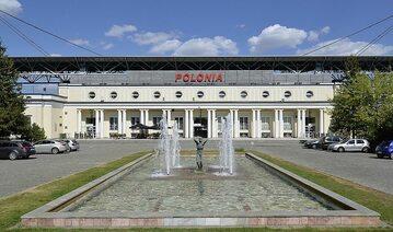 Wejście na stadion Polonii Warszawa