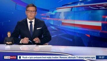 """""""Wiadomości"""" TVP z 21 maja"""