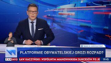 """""""Wiadomości"""" TVP z 3 lipca 2021 roku"""
