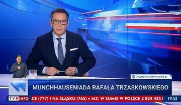 """Wiadomości"" TVP z 7 maja 2021 roku"