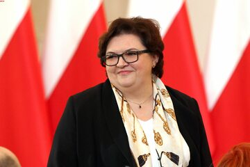 Wiceminister Elżbieta Bojanowska