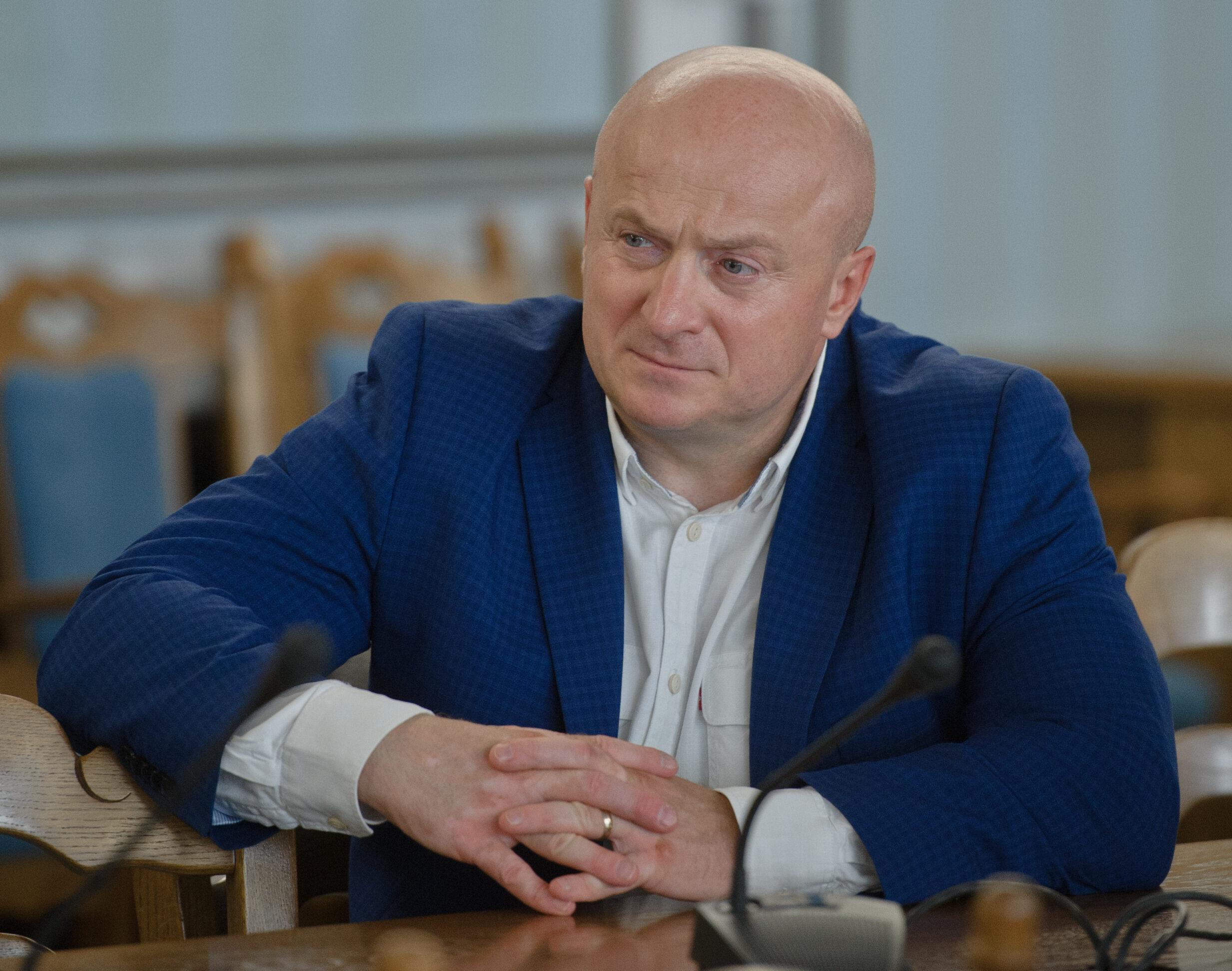 Wiceminister sportu Jarosław Stawiarski