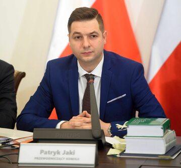 Wiceminister sprawiedliwości Patryk Jaki, przewodniczący komisji do spraw usuwania skutków prawnych decyzji reprywatyzacyjnych dotyczących nieruchomości warszawskich, wydanych z naruszeniem prawa