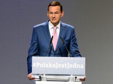 Wicepremier, minister finansów i rozwoju, Mateusz Morawiecki