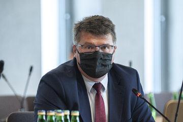 Wiceszef MSWiA Maciej Wąsik