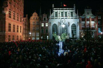 Wiec przeciwko nienawiści w Gdańsku