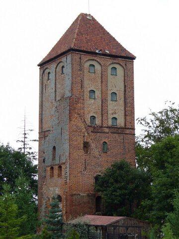 Wieża zamku w Przezmarku