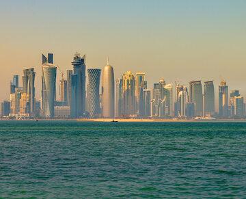 Wieżowce w Doha, stolicy Kataru