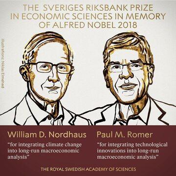 William Nordhaus i Paul Romer