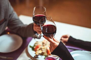 Wino w restauracji