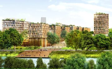 Wioska olimpijska na igrzyska w Paryżu w 2024 roku